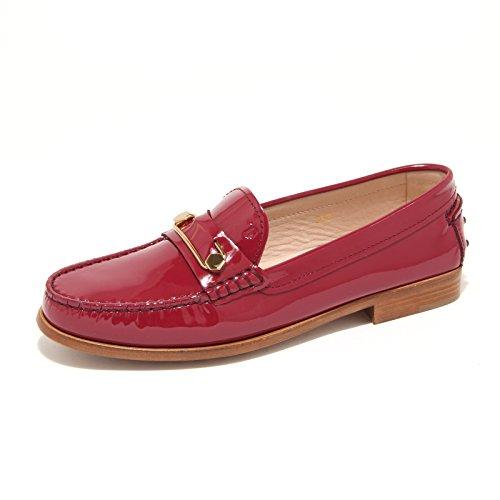 Tod's 7868L Mocassini Donna Cuoio mascherina spilla Scarpe Loafers Shoes Women [36.5]