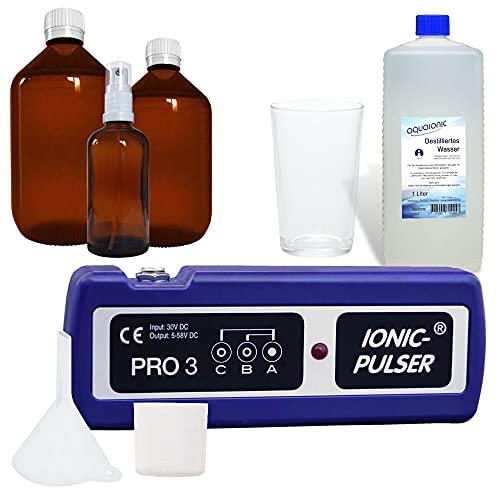 Medionic Ionic-Pulser PRO 3 Starter-Set - Silbergenerator - Neues Modell