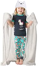 XNLHQH IJ Hooded Blanket Wearable Hood Throw Blankets Wrap,Hudson Bay Wolf Print Soft Kids Blanket Gift Cozy Magic Cloak 50 by 40