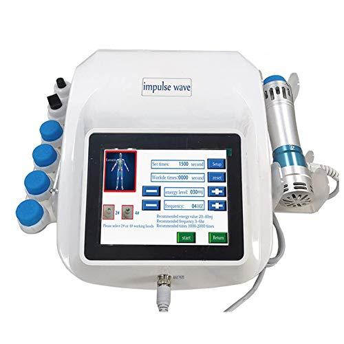 ZLSN Stosswellentherapie geräte, ED Extrakorporales Stoßwellentherapiegerät, Multifunktions-Schmerzmassagegerät mit 7 Köpfen für chronische Schmerzlinderung