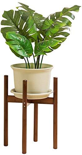Bloemstandaard, bloemenstandaard, bloempot, plant, plant, plant, eenvoudige en moderne massief houten binnen, balkon, corner, tentoonstellingsstand, 3 afmetingen (grootte: 33cm)
