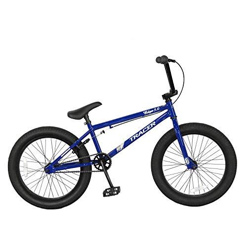 "Tracer BMX Bike,20""Wheels,Single Speed (Blue)"