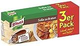 Knorr Würzbasis Soße zu Braten (ohne geschmacksverstärkende Zusatzstoffe), 10er Pack (10 x 3...