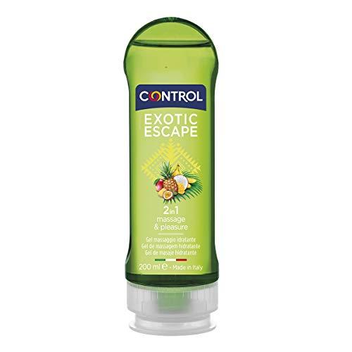 CONTROL Gel Massaggio Exotic Escape 100% Made in Italy - 200 ml