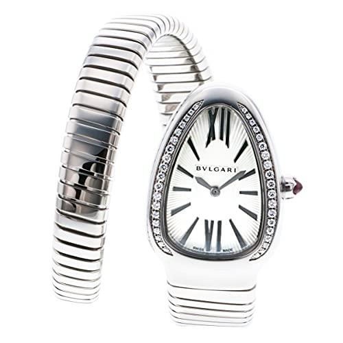 腕時計 BVLGARI(ブルガリ) SP35C6SDS.1T シルバー文字盤 レディース [並行輸入品]