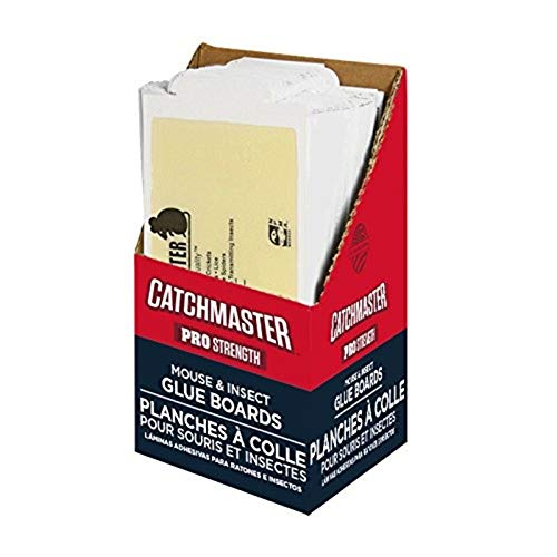 Catchmaster Bulk Pack Mouse and Insect Glue Boards, 75-Pack