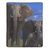 マウスパッド FPSゲーム (180*220*3mm) 象野生動物野生動物山