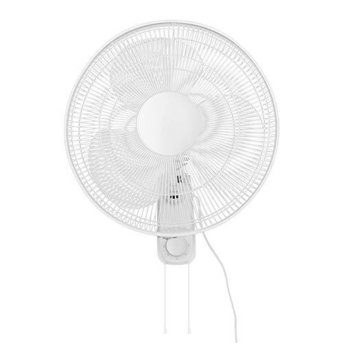 NAF Ventilador Eléctrico, Enfriador De Aire para El Hogar O La Oficina (Ventilador Montado En La Pared De 16 Pulgadas)