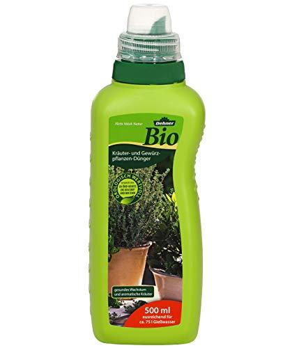 Dehner Bio Kräuter- und Gewürzpflanzen-Dünger, flüssig, 500 ml, für ca. 75 l