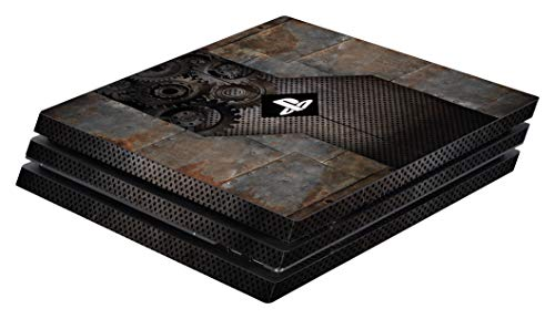 Software Pyramide Skin für PS4 Pro Konsole Rusty Metal Cover PS4 Pro