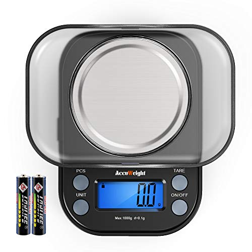 Our #5 Pick is the AccuWeight Mini Pocket Gram Scale