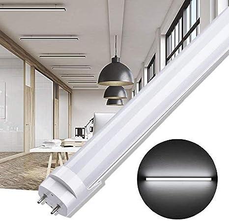 9W-60CM per Ufficio Magazzino Garage Cucina Soggiorno Tubo Fluorescente Switch Controls 3 Color Temperatures 3000K // 4000K // 6500K Tubo LED Lampada LED
