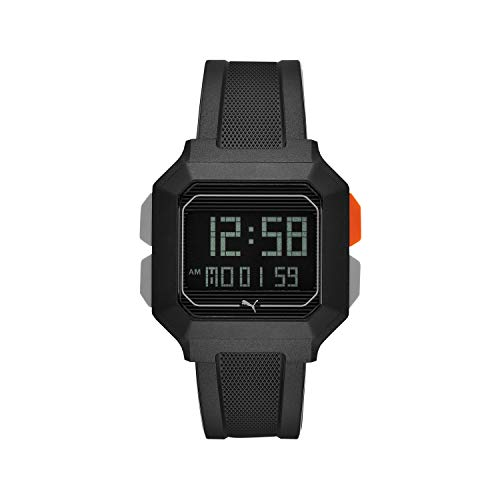 PUMA Men's Remix Digital Sports Watch - 42MM