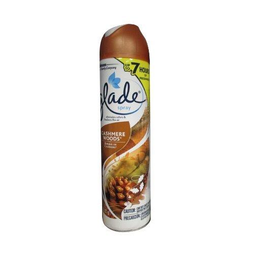 Glade Air Freshener Spray Cashmere Woods 8 Oz (Pack of 3)
