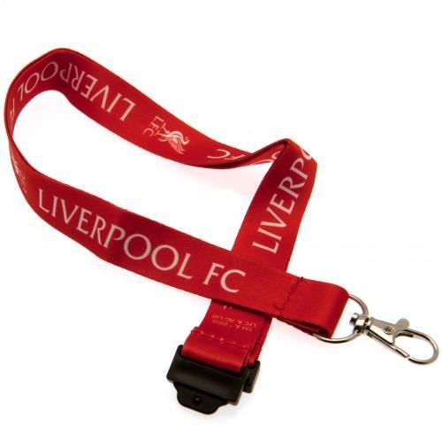 Liverpool F.C.Offizielles Merchandise-Schlüsselband.