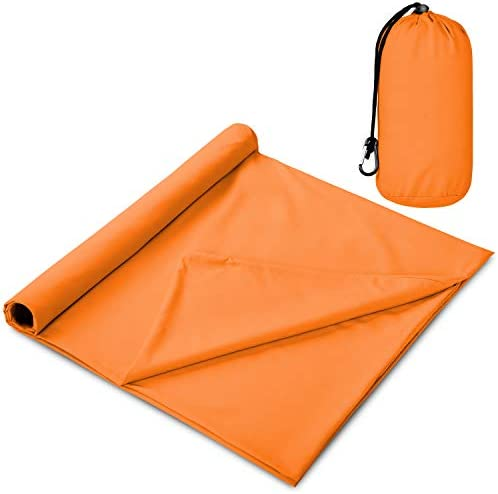 The Friendly Swede Sleeping Bag Liner Travel and Camping Sheet Pocket Size Ultra Lightweight product image