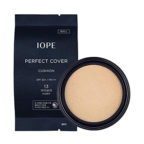 IOPE PERFECT COVER CUSHION SPF 50+ PA+++ ([Refill] #13 Ivory 15g)