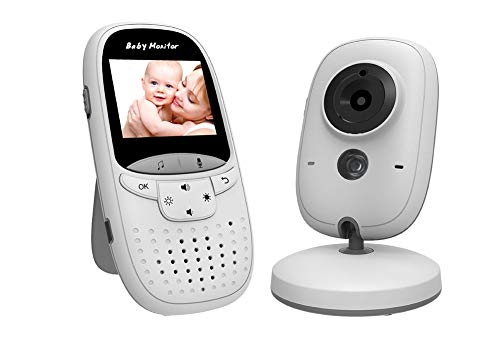 960P FHD Baby Monitor with 2.4G Home Security Camera Indoor Best Surveillance Camera with Night Vision and 2-Way Audio for Infant/Elder/Pet