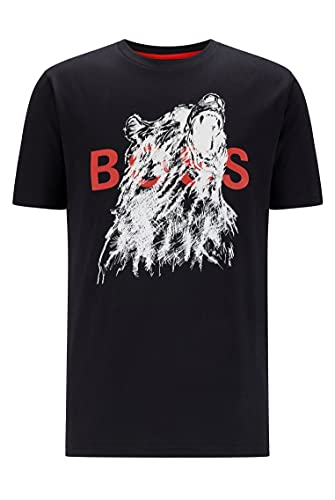BOSS TDraw Camiseta, negro3, S para Hombre