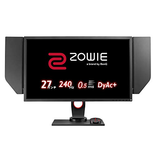 BenQ Gaming Monitor ZOWIE XL2746S (Full HD, 27 type, TN, 240Hz, 0.5ms, DyAc+, Black eQualizer, S.Switch, HDMIx2, DP, DVI)