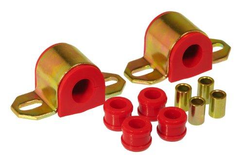 Prothane 7-1143 – Juego de bujes de barra estabilizadora trasera (22 mm), color rojo