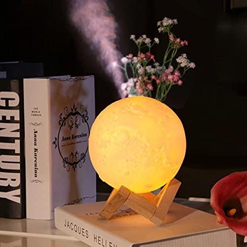 Umidificador Abajur Lua cheia Luminária 3D