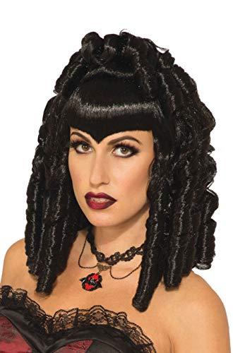 Forum Novelties Women's Regal Vampiress Costume Wig, Black, One Size