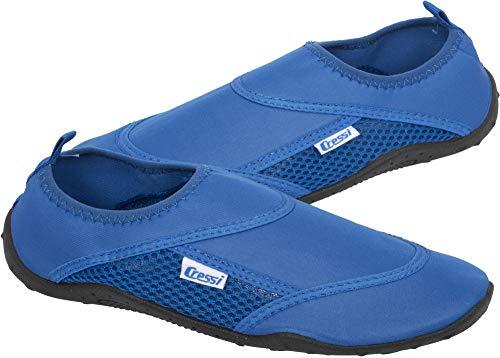 Cressi Coral Shoes Zapatilla para Deportes Acuáticos, Adultos Unisex, Azul Royal, 43