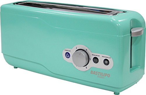 Bastilipo TR-750V Tostador, 750 W, Plástico, Verde Agua