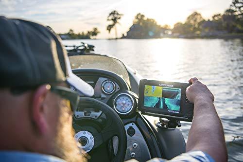 Lowrance HOOK Reveal 7x SplitShot - 7-inch Fish Finder with SplitShot Transducer, GPS Plotter