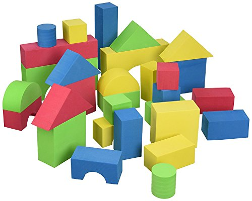 Edushape Educolor Building Blocks, 30 Piece