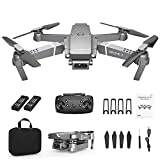 2.4G Drone x pro Selfie WiFi FPV with 720P HD Camera Foldable RC Quadcopter RTF - with a 720 P / 1080 P / 4 K Wide-Angle Camera (720P & Double Battery)