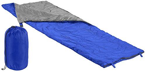 PEARL Deckenschlafsack: Leichter Decken-Schlafsack, 200 g/m² Hohlfaser-Füllung, 190 x 75 cm (Leichter Deckenschlafsack)