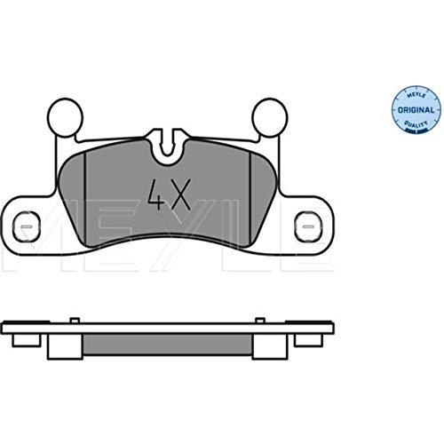 MEYLE 0252472116 Bremsbeläge hinten (satz)