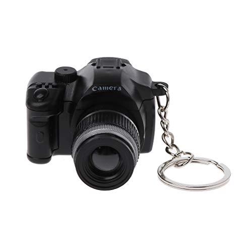 MIKI-Z Mini cámara réflex Digital réflex Digital LED luz de Flash antorcha Obturador Sonido Llavero