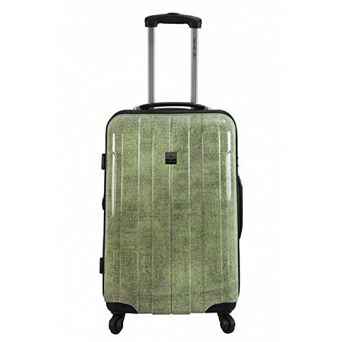 France Bag - Maleta rígida de 60 cm, bahamas mediana de salón – Policarbonato – Jeans Annis