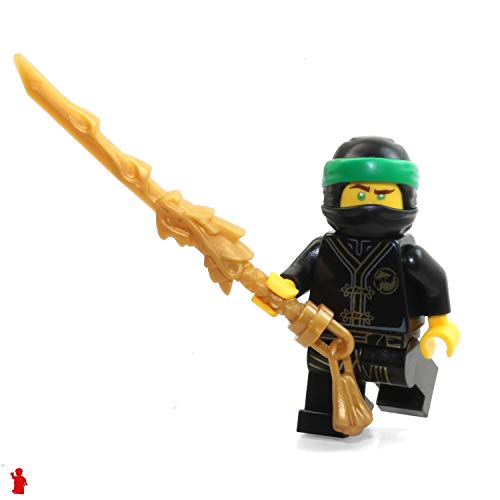 LEGO Ninjago Minifigure - Lloyd Black Wu-Cru Training Gi Limited Edition Foil Pack (with Dragon Sword and Helmet)