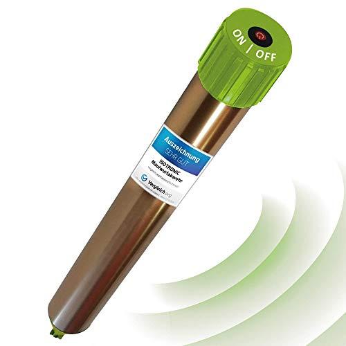 ISOTRONIC Scaccia talpe Avanzato Repellente per talpe toppi ratti serpenti a ultrasuoni
