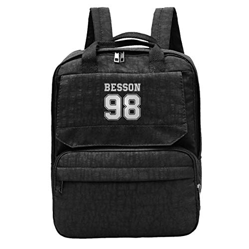 DJNGN Travel Backpack Corbyn Besson 98 College Style Gym Hiking Daypack College Laptop and ebook Bag for Women & Men