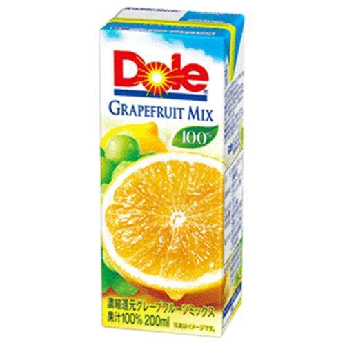 雪印メグミルク Dole(ドール)『グレープフルーツミックス 100%』