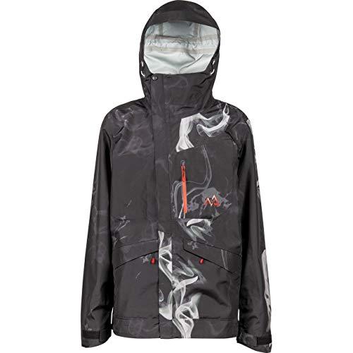 Nitro Snowboards Herren Glades 19 Winterjacke Snowboardjacke Ski atmungsaktiv warm wasserabweisend Outerwear, Haze, L
