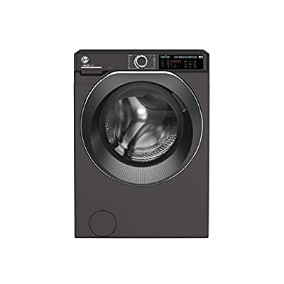 Hoover H-Wash 500 HWD610AMBCR Free Standing Washing Machine, Care Dose, A+++, 10 kg, 1600 rpm, Graphite, Decibel rating: 51, EU Acoustic Class: A