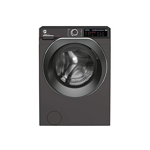 Hoover H-Wash 500 HWD610AMBCR Free Standing Washing Machine, Care Dose, A+++, 10 kg, 1600 rpm, Graphite
