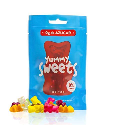 Yummy Sweets Golosinas ositos 0% azúcar (pack con 10 unidades)