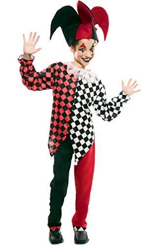 EUROCARNAVALES Disfraz de Arlequín Rojo para niño