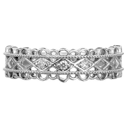 [ココカル]cococaru シルバー リング ダイヤ ダイヤモンド 指輪 sv925 ギフト 記念日 プレゼント 日本製(8)