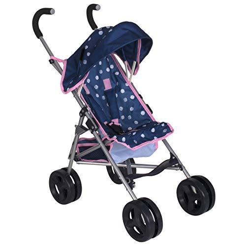 HTI Toys Mamas & Papas Junior Cruiser Toy Dolls Stroller Pram Toys | Kids Role Play Baby Doll Stroller Pushchair Buggy Girls Boys Ages 3 Years+