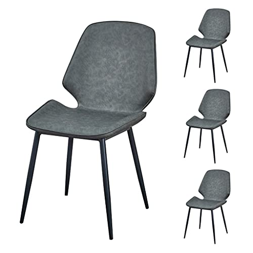 Smidesjärn matbord och stolar, läder, lämplig för vardagsrum, kök (kan köpas i uppsättningar)
