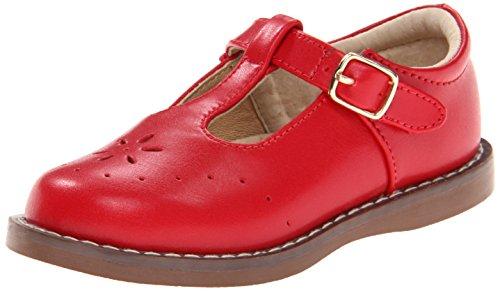 FootMates Girl's Sherry 2 (Toddler/Little Kid) Apple Red Flat 12 Little Kid M/W