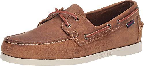 Sebago Men's, Portland Boat Shoes TAN 10 M